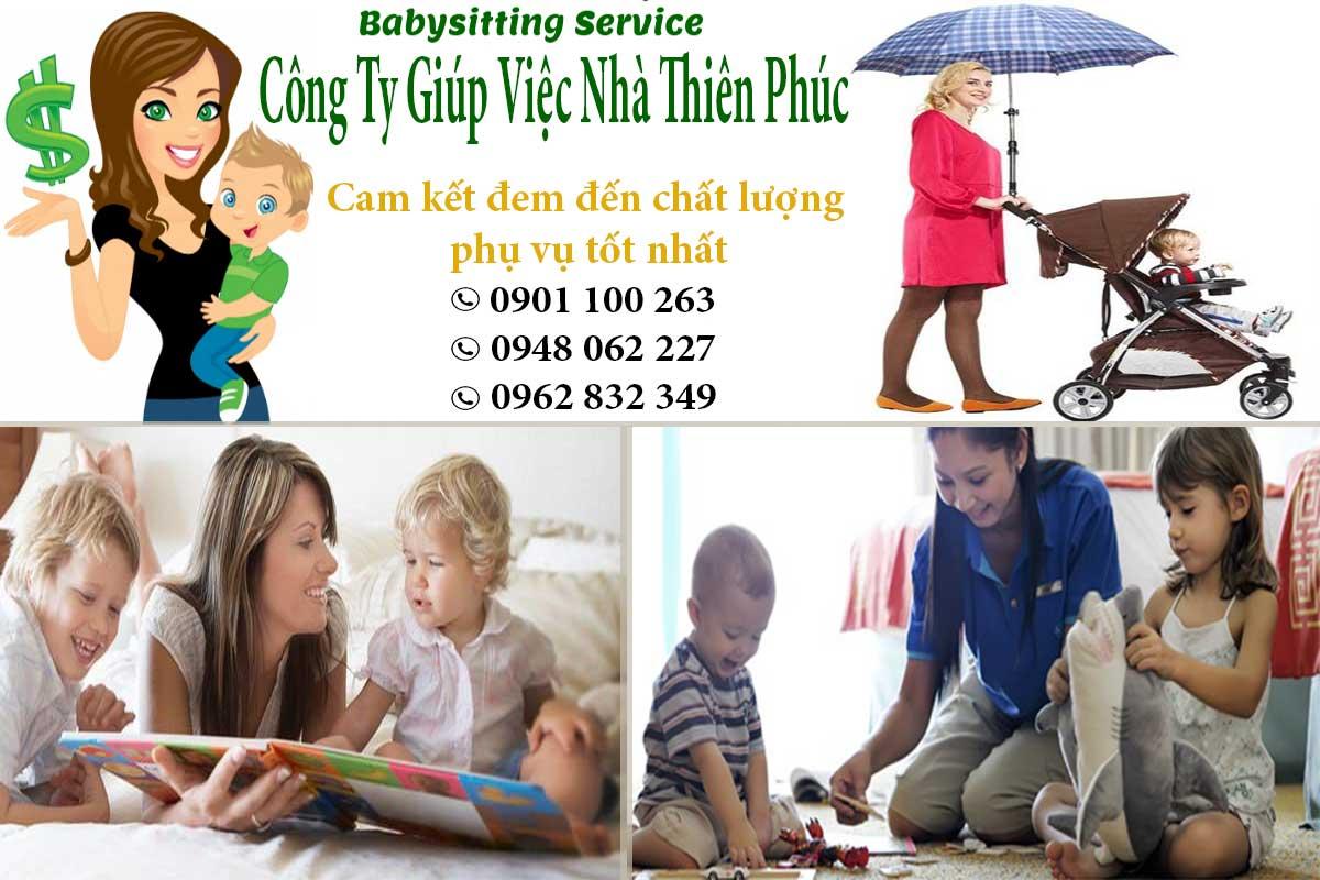 Cam kết đem lại dịch vụ trông trẻ chất lượng và chuyên nghiệp