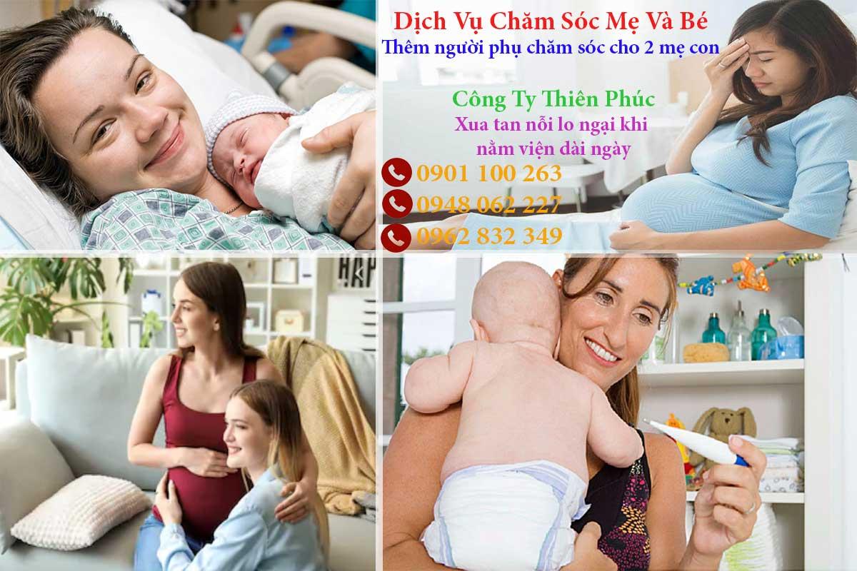 Dịch vụ chăm sóc mẹ và bé trước và sau khi sinh tại TPHCM