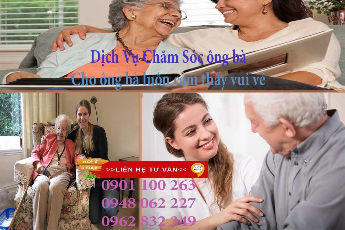 Tìm người chăm sóc người già để bố mẹ, ông bà nhận được sự chăm sóc tốt nhất
