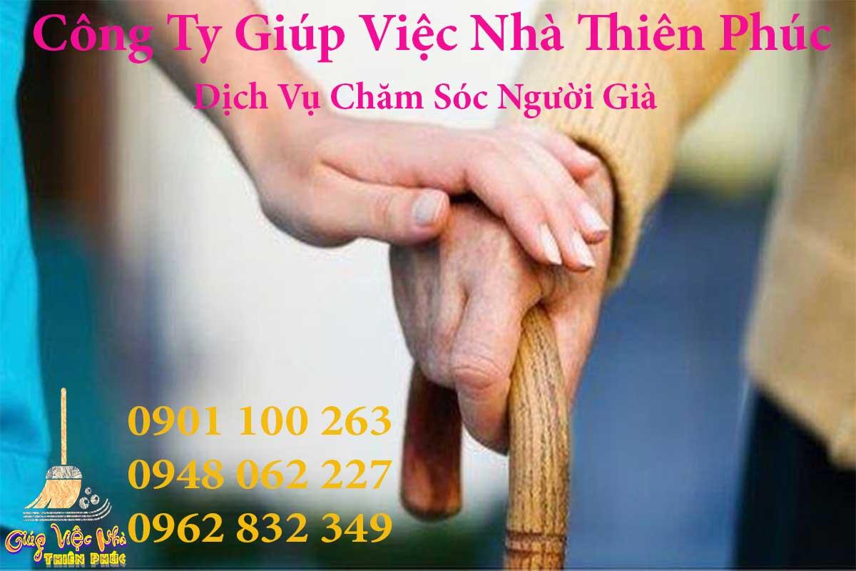 Dịch vụ cung ứng nhân viên chăm sóc người già uy tín TP HCM