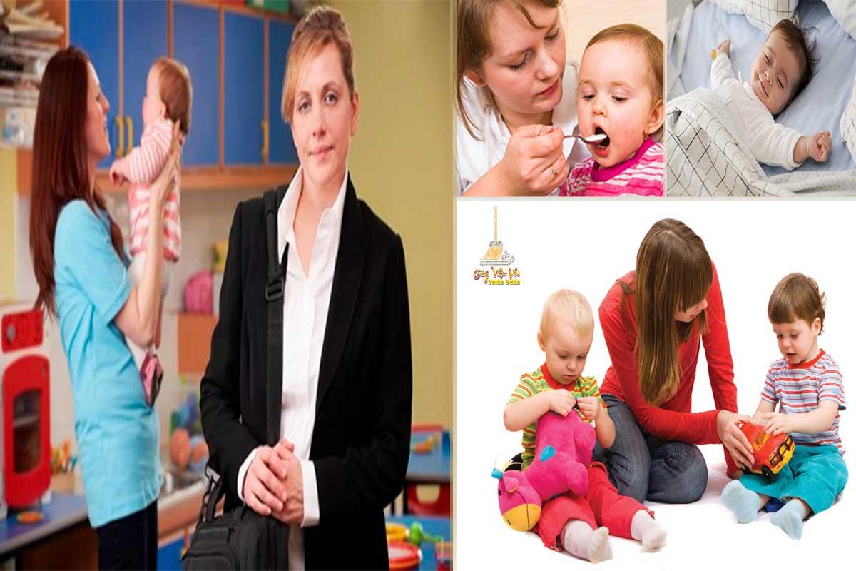 Dịch vụ giữ trẻ tại nhà chu đáo