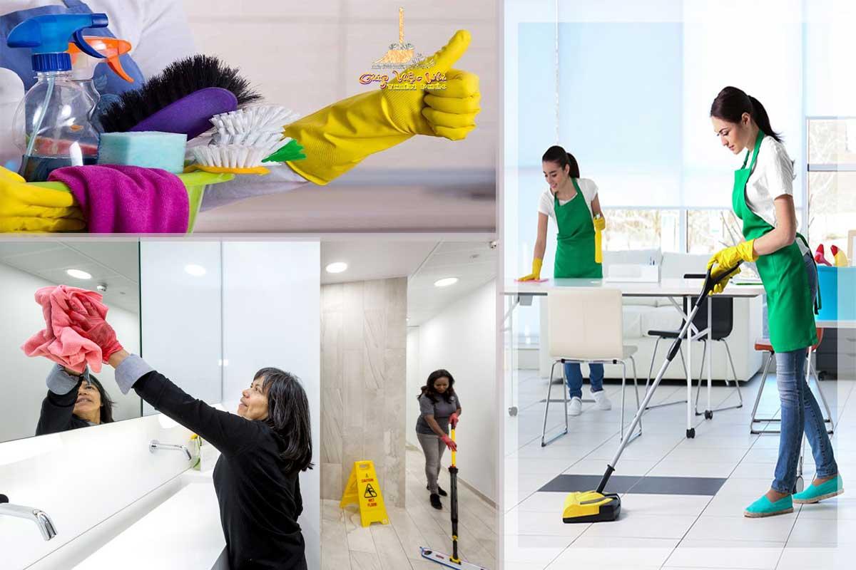 Dịch vụ vệ sinh nhà của, dọn dẹp nhà của công ty Thiên Phúc