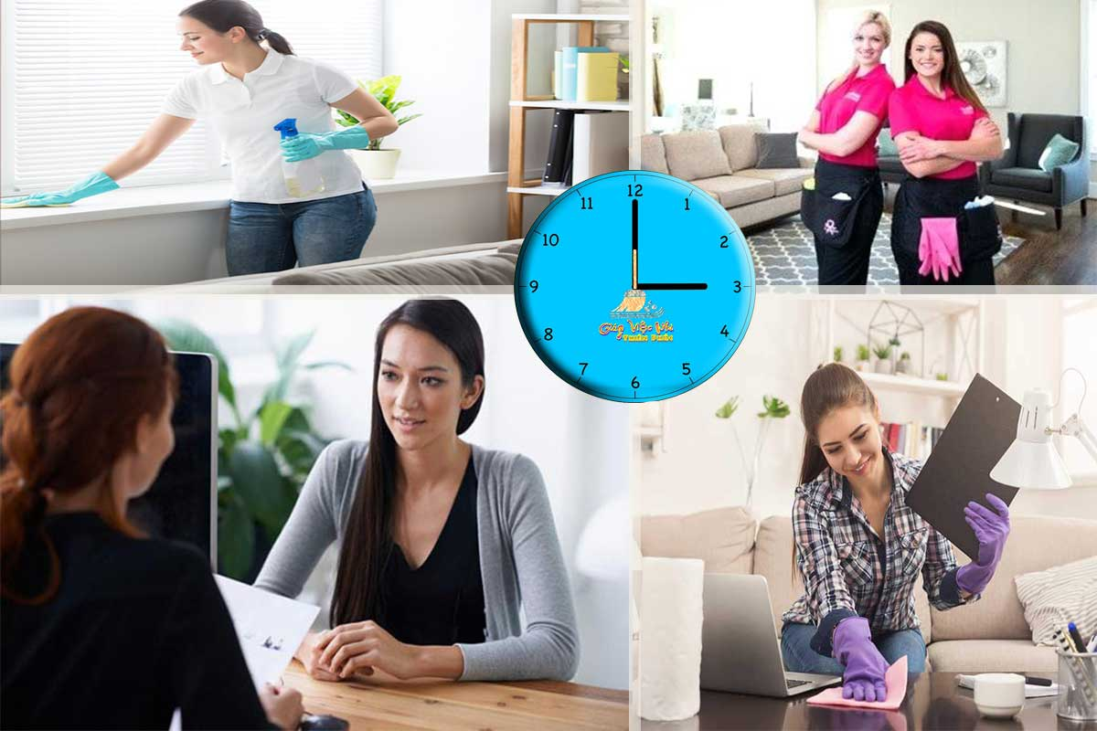 Tìm hiểu đơn vị tuyển dụng tuyển giúp việc theo giờ có uy tín không